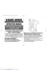Black & Decker GG500S Manuals