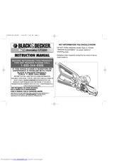 Black & Decker Alligator LP1000 Manuals