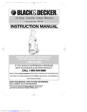 Black & Decker PW1500 Manuals