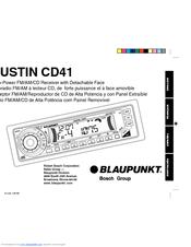 Blaupunkt AUSTIN AUSTIN CD41 Manuals
