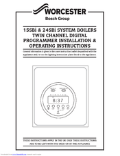 worcester system boiler wiring diagram complex origami dragon bosch 24sbi manuals installation operating instructions manual 6 pages boilers