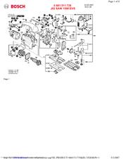 Bosch 1590 EVS Manuals