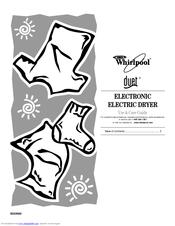 Whirlpool GEW9200LW1 Manuals
