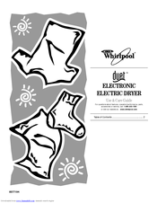 Whirlpool gew9250pw1 Manuals