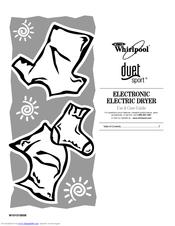 Whirlpool DUET SPORT W10151580B Manuals