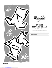 Whirlpool WED7500VW Manuals