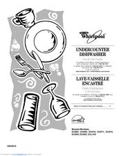 Whirlpool DU915 series Manuals