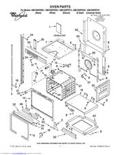 Whirlpool GMC305PRY01 Manuals