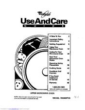 Whirlpool RM280PXB Manuals
