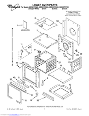 Whirlpool GBD307PRS00 Manuals