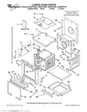 Whirlpool GBD307PRB01 Manuals
