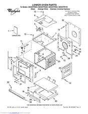 Whirlpool GBD307PRY03 Manuals