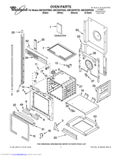 Whirlpool GMC305PRS00 Manuals