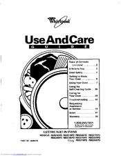 Whirlpool RBS305PD Manuals