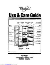 Whirlpool ET18NK Manuals