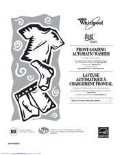 Whirlpool Duet Steam WFW9550WW00 Manuals