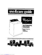 Whirlpool LA6800XS Manuals