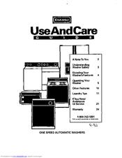 Estate WASHERS Manuals