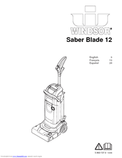 Windsor Saber Blade 12 Manuals