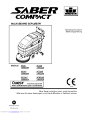 Windsor Saber Compact SC20T Manuals