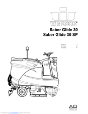 Windsor Saber Glide 30 Manuals