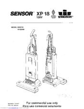 Windsor Sensor XP 18 Manuals