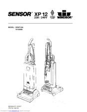 Windsor Sensor XP 12 Manuals