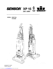 Windsor Sensor XP 15 10120290 Manuals