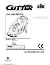 Windsor Saber Cutter SC264 Manuals