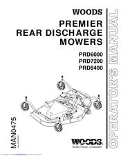 Woods PRD7200 Manuals