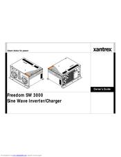 Xantrex FREEDOM SW 3000 Manuals