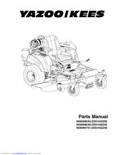 Yazoo/kees 968999698/ZEKH48240 Manuals