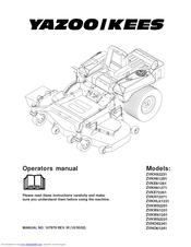 Yazoo/kees ZVKW52231 Manuals