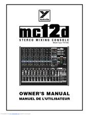 Yorkville MC12 Manuals