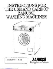 Zanussi FL812 Manuals