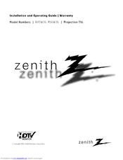 Zenith R49W36 Manuals
