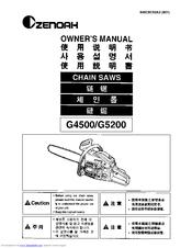 Zenoah G5000 Manuals