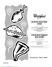 Whirlpool RBD245 Manuals