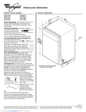 Whirlpool WDF750SAYM Manuals
