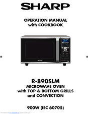 Sharp R-890SLM Manuals