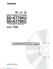 Toshiba SD-K770 Manuals