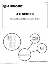 Aiphone AX-DVF Manuals