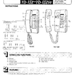 Aiphone Intercom Wiring Diagram Ryobi 700r Fuel Line Great Installation Of Td 12z Instructions Manual Pdf Download Rh Manualslib Com Systems Video