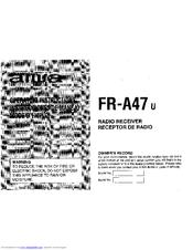 Aiwa FR-A47 Manuals