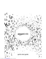 Amazon Kindle Kindle Keyboard 3G Manuals