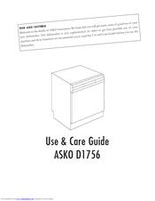 Asko D1756 Manuals