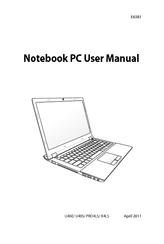 Asus Zenbook UX21E Manuals