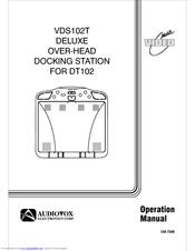 Audiovox VDS102T Manuals