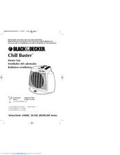 Black & Decker Chill Buster BDHF200 Series Manuals