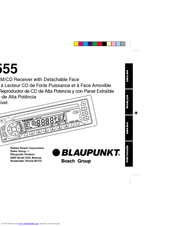 Blaupunkt RPD 555 Manuals